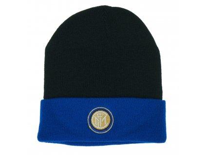 Zimní čepice Inter Milán cutt dark