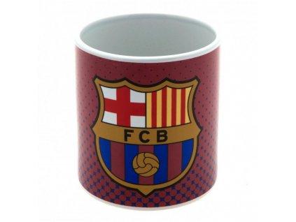 Keramický hrnek FC Barcelona: Jumbo (objem 863 ml) vínový