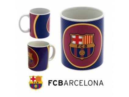 Keramický hrnek FC Barcelona: Bullseye vínový (objem 350 ml)