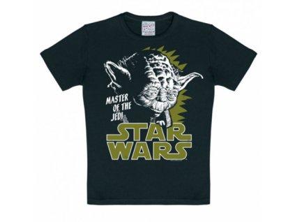 Dětské tričko Star Wars Hvězdné Války: Yoda  bavlna