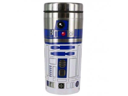 Cestovní termo hrnek Star Wars|Hvězdné války: R2-D2 (objem 450 ml)