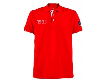 Pánské polo tričko Atletico Madrid red