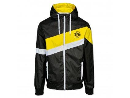 Pánská větrová bunda Borussia Dortmund 20 stripes