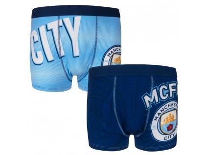 Pánské boxerky Manchester City 2pk blue