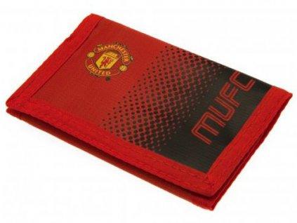 Peněženka FC Manchester United: Fade (12 x 8 cm) polyester