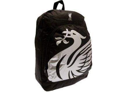 Batoh FC Liverpool: vzor RT (objem 17 litrů|40 x 30 x 14 cm) černý nylon