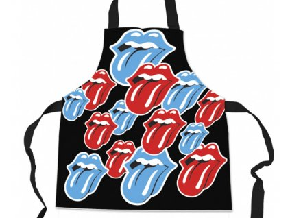Kuchyňská zástěra Rolling Stones: Tangue (69 x 78 cm) polyester