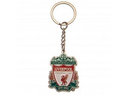 Kovová klíčenka FC Liverpool: Znak (4,5 x 3,5 cm)