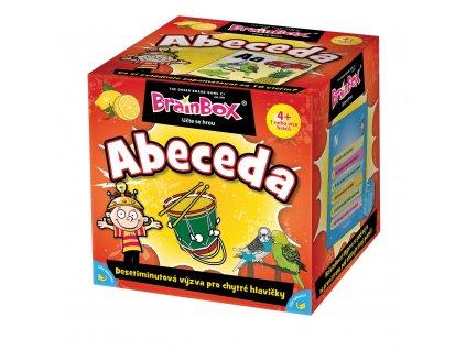 Dětská hra Brainbox CZ - abeceda
