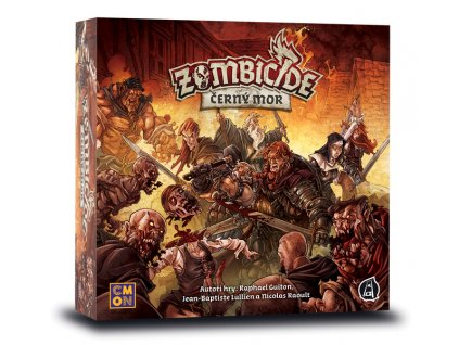 Strategická hra Zombicide: Černý mor