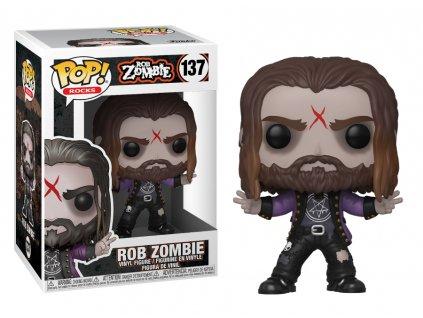 Figurka Funko POP Rocks: Rob Zombie – Rob Zombie