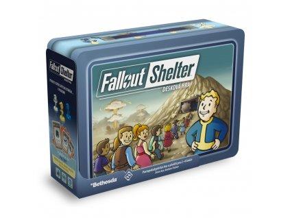 Strategická hra Fallout Shelter: desková hra