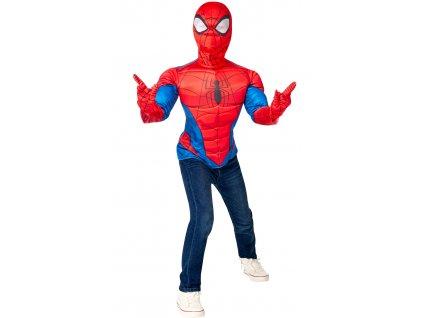 Avengers: Spider-Man - kostým triko s vycpávkami a maska