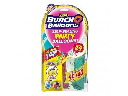 Zuru - party balónky (růžová, tyrkysová, bílá)
