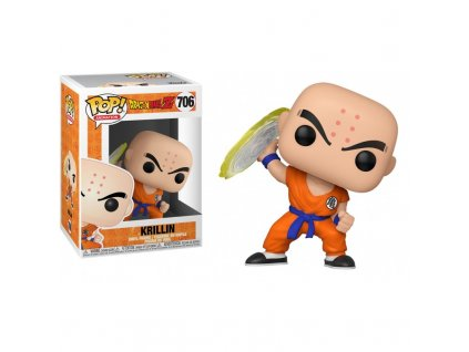 Figurka Funko POP Animation: DBZ S7 - Krillin w/ Destructo Disc