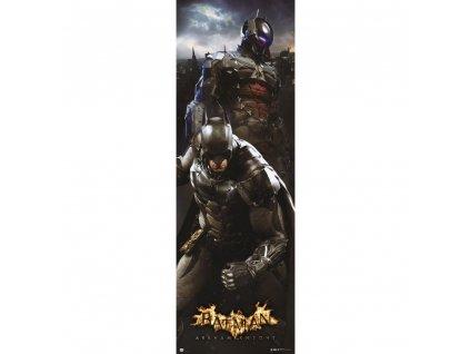 Plakát na dveře DC Comics: Batman Arkham Knight (53 x 158 cm) 150 g