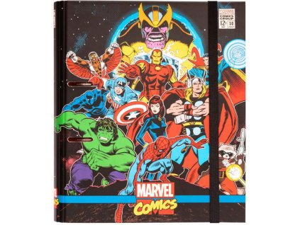 Kroužkový pořadač Marvel Comics: Avengers (28 x 32 cm)