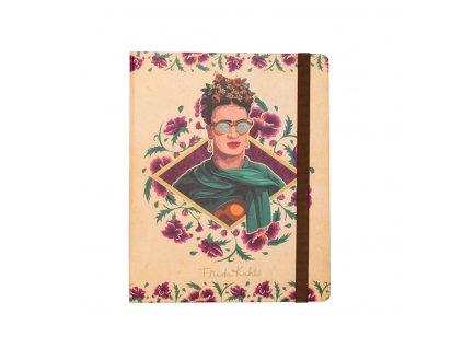 Poznámkový blok Frida Kahlo: Glasses (A5 14,8 x 21,0 cm)
