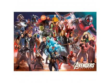 Maxi plakát Marvel|Avengers Endgame: Line Up (99 x 140 cm) 150 g