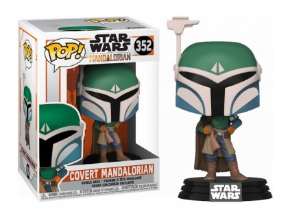 Figurka Funko POP Star Wars The Mandalorian - Covert Mandalorian