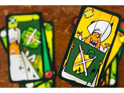 Rodinná hra Švábí salát