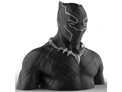 Pokladnička Marvel: Black Panther (výška 16 cm)