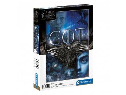 Puzzle Game Of Thrones: House Stark 1000 dílků (50 x 69 cm)