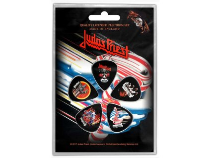 Kytarová trsátka Judas Priest: Turbo set 5 kusů