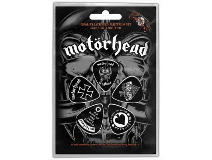 Kytarová trsátka Motörhead: England set 5 kusů