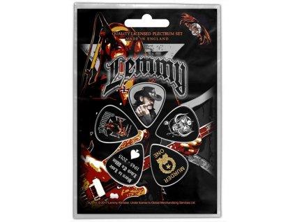 Kytarová trsátka Lemmy: Stone Death Forever set 5 kusů