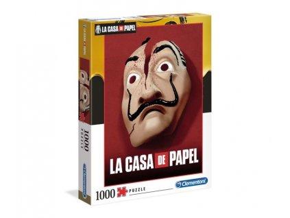 Puzzle La Casa de Papel|Papírový dům: 1000 kusů (69 x 50 cm)