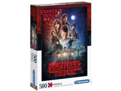 Puzzle Stranger Things: Season 1 500 kusů (49 x 36 cm)