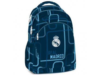 Školní batoh Real Madrid blue 17 3k