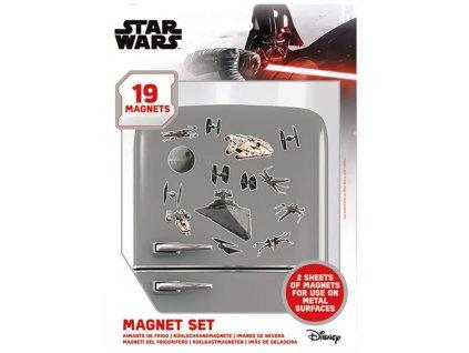 Magnety Star Wars: Death Star Battle Set 19 kusů (18 x 24 cm)