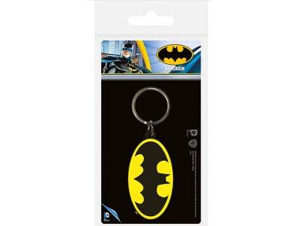Pryžový přívěsek na klíče: Batman (5 x 6 cm) pryžový