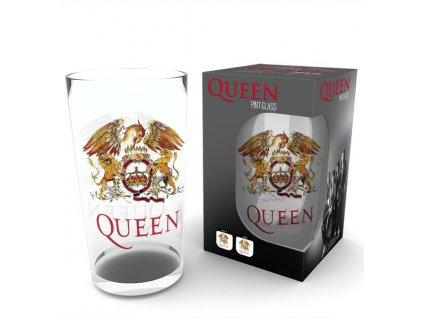 Sklenice Queen: Znak (objem 500 ml)