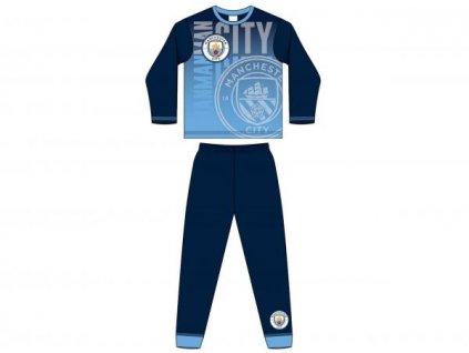 Pyžamo Manchester City Selected logo Jr
