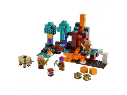 LEGO Minecraft Podivný les 21168