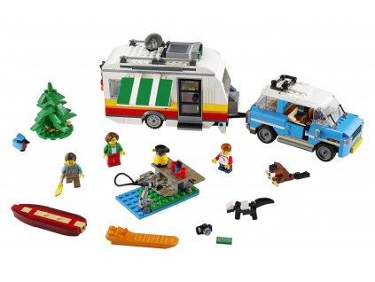 LEGO Creator 3v1 Rodinná dovolená v karavanu 31108