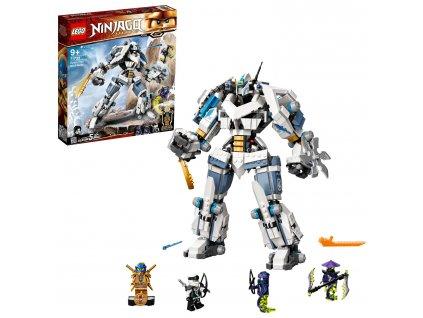 LEGO NINJAGO Zane a bitva s titánskými roboty 71738