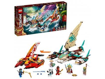LEGO NINJAGO Souboj katamaránů na moři 71748