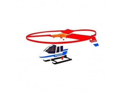 Letadlo s vystřelovacím louncherem - Policie