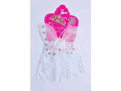 Šaty pro princeznu - bílé