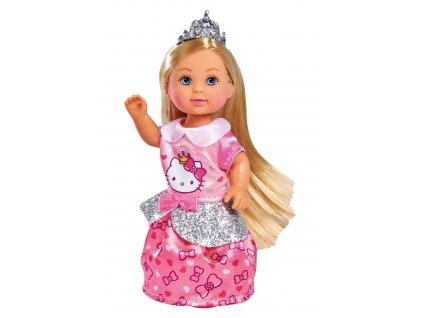 Panenka Evička Hello Kitty Princezna