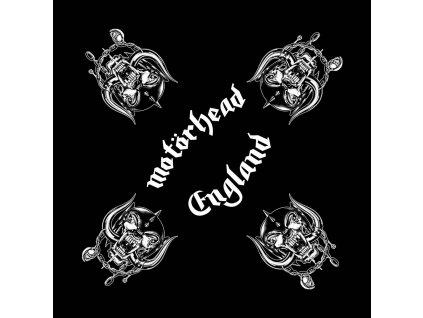 Multifunkční šátek Motörhead: War Pig England (55 x 55 cm) černá bavlna