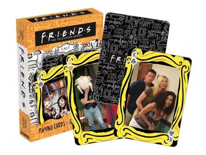 Hrací karty Friends Přátelé: Photos 54 karet (6 x 9 x 2 cm)