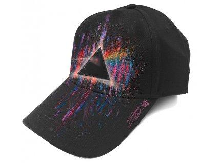 Kšiltovka Pink Floyd: Dark Side of the Moon Splatter (nastavitelná)