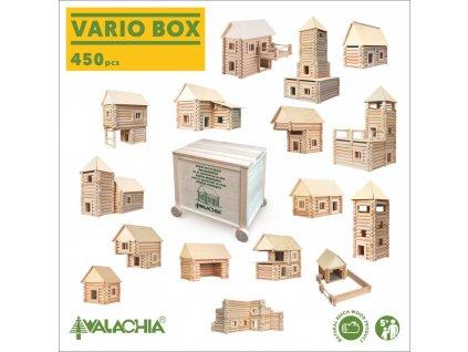 Vario Box 450 dílků