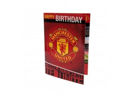 Blahopřání k narozeninám Manchester United hrací