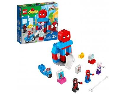 LEGO DUPLO Základna Spider-Mana 10940